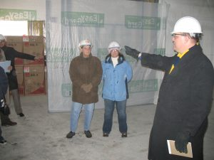 Immediately upon joining OHOW, Cramer began leading the construction of a new main hospital building.