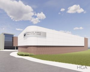 The OHOW Center Rendering Outside
